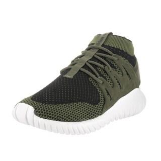 Adidas Men's Tubular Nova Pk Green Textile Running Shoe