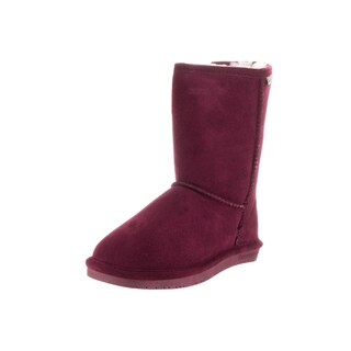 Bearpaw Women's Emma Purple Suede Short Boots