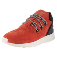 Adidas Men's Zx Flux Adv X Orange Suede Running Shoe