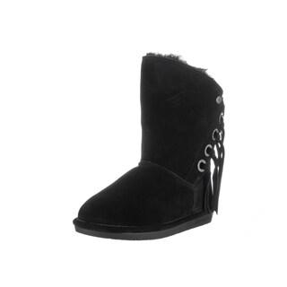Bearpaw Women's Arya Black Suede Boots