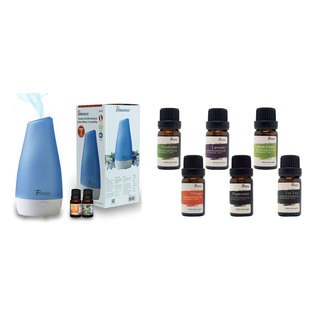 Pursonic Aroma Diffuser/Humidifier with 8 Scented Oils
