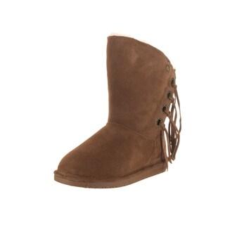 Bearpaw Women's Arya Brown Suede Boots