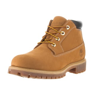 Timberland Men's Nelson AF Heritage Yellow Synthetic Leather Chukka Boots