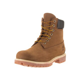 Timberland Men's Brown Nubuck Premium Boots