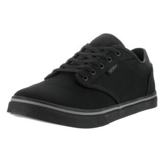Vans Women's Atwood Low Black Canvas Casual Shoe