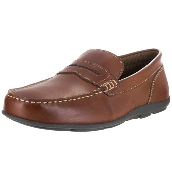 Tommy Hilfiger Davey Mens Brown Loafers