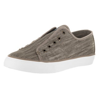 Sperry Top-sider Women's Seacoast Ripstop Brown Canvas Casual Shoe