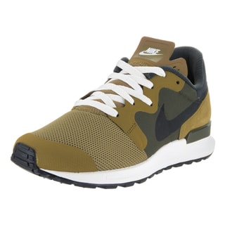 Nike Men's 'Air Berwuda' Camper Green, Black, Cargo Khaki, and Sail Synthetic Running Shoes
