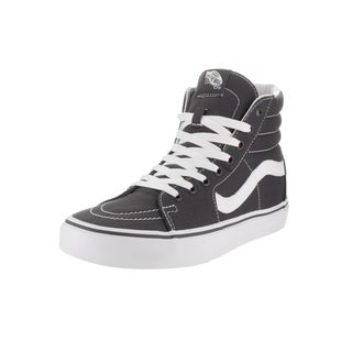 Vans Unisex Sk8-Hi Grey Canvas Skate Shoes