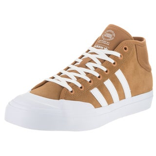 Adidas Men's Brown Suede Matchcourt Mid Adv Skate Shoe