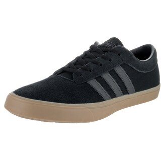 Adidas Men's Sellwood Black Suede Skate Shoes