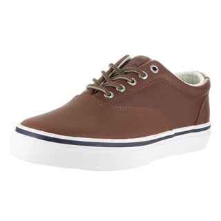 Sperry Top-Sider Men's Striper LL CVO Brown Synthetic Leather Casual Shoe
