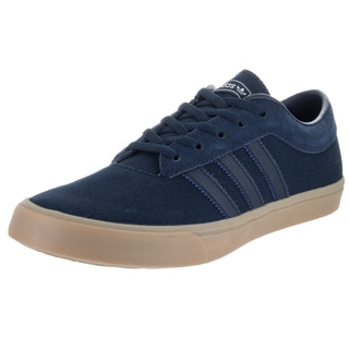 Adidas Men's Sellwood Blue Canvas Skate Shoes