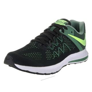 Nike Men's Zoom Winflo 3 Black Running Shoes