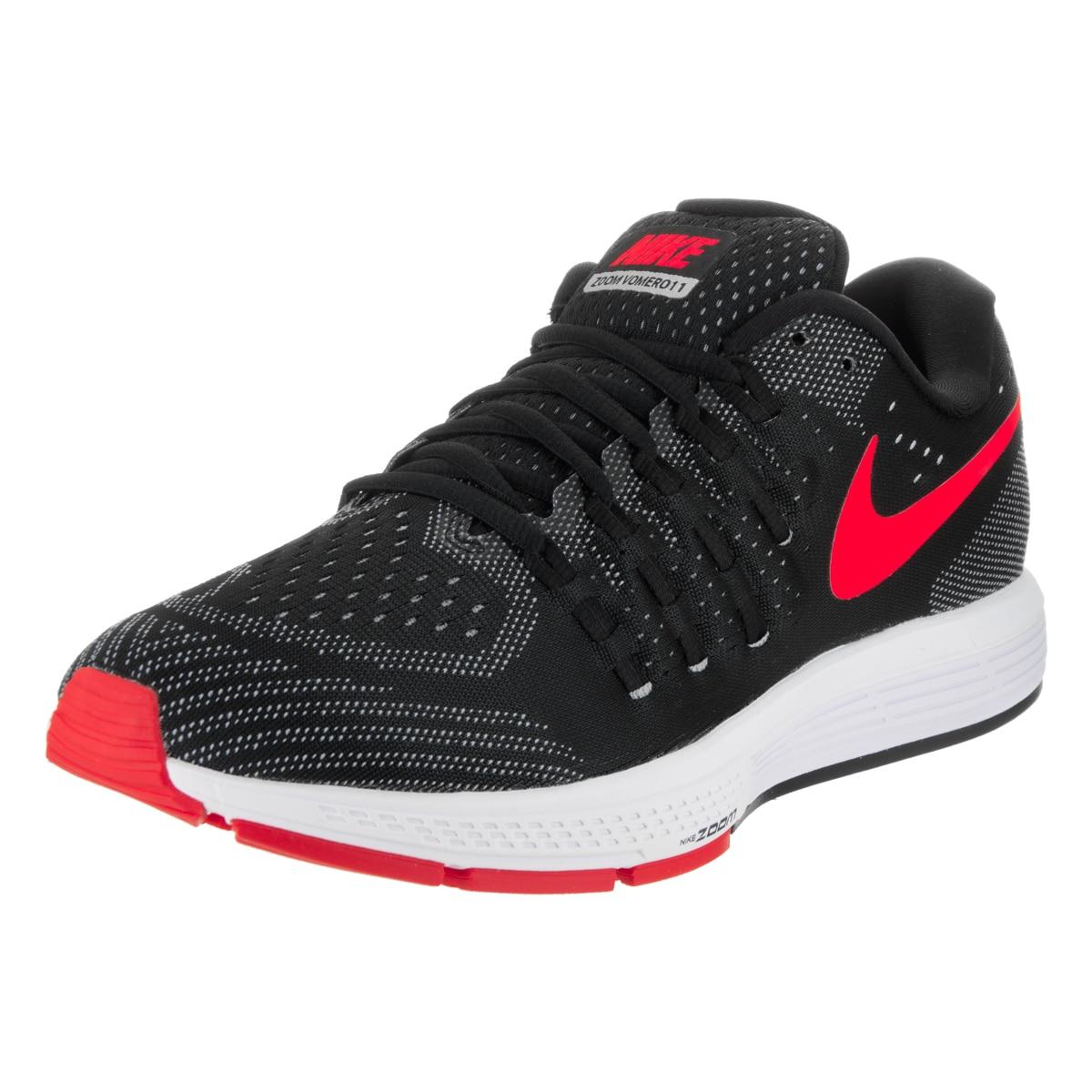 Nike Men's Air Zoom Vomero 11 Running Shoes (11), Black (...