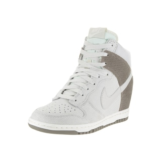 Nike Women's Dunk Sky Hi Beige Suede Casual Shoes