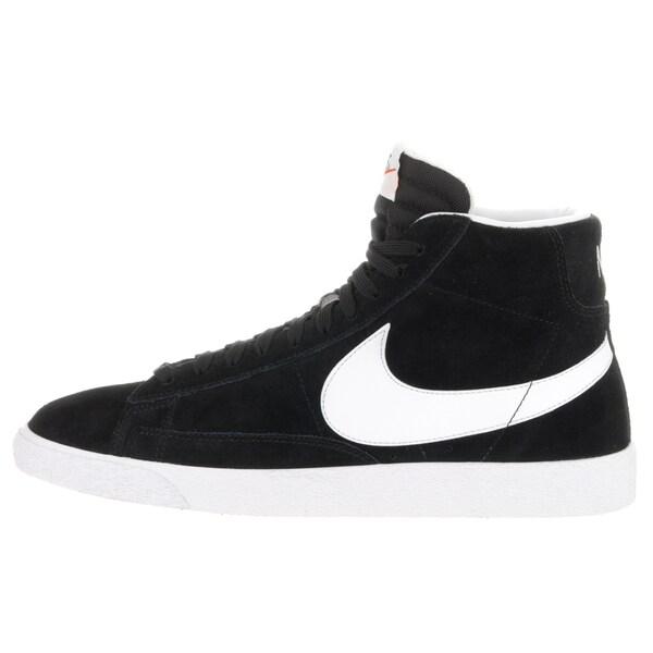 Black Suede Blazer Mid Prm Casual Shoe