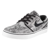 premium selection ec601 17aec Nike Men s Zoom Stefan Janoski Prem TxT Black Textile Skate Shoes