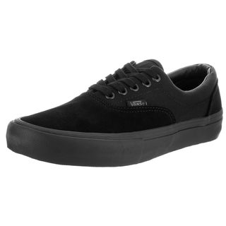Vans Men's Era Pro Blackout Black Suede Skate Shoes