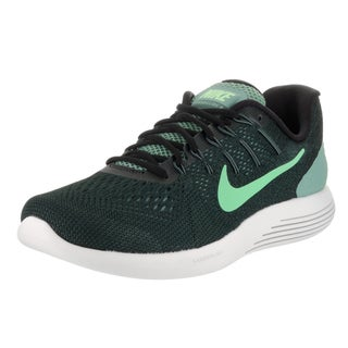 Nike Men's Lunarglide 8 Green Fabric Running Shoes