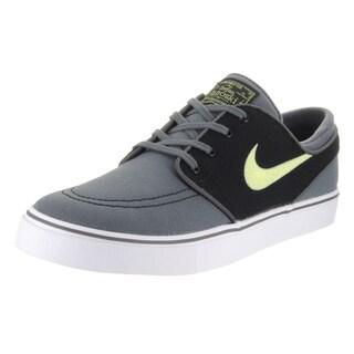 Nike Men's Zoom Stefan Janoski Grey Canvas Skate Shoes