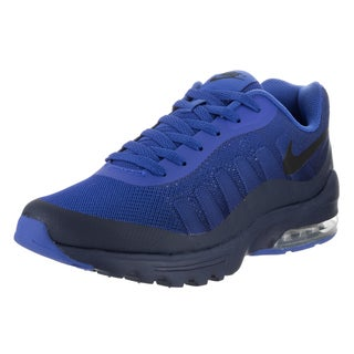 Nike Men's Air Max Invigor Print Blue Synthetic Leather Running Shoes