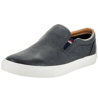 Tommy Hilfiger Men's Mustang2 Blue Leather Casual Shoes