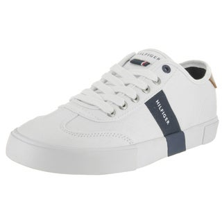 Tommy Hilfiger Men's Pandora White Textile Casual Shoes