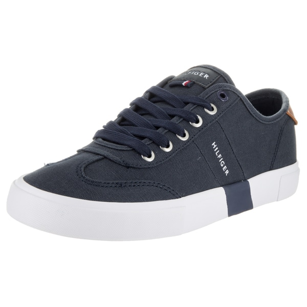 711fc1a1375d ... Men s Sneakers. Tommy Hilfiger Men  x27 s Pandora Dark Blue Textile Casual  Shoes