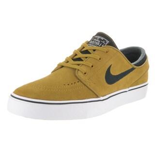 Nike Men's Zoom Stefan Janoski Yellow Suede Skate Shoe