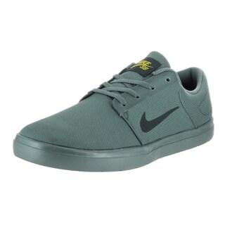 Nike Men's Green Canvas SB Portmore Ultralight Skate Shoe