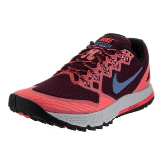 Nike Men's Air Zoom Wildhorse 3 Multicolor Mesh Running Shoes