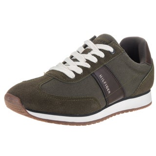 Tommy Hilfiger Men's Modesto Dark Green Textile Casual Shoes