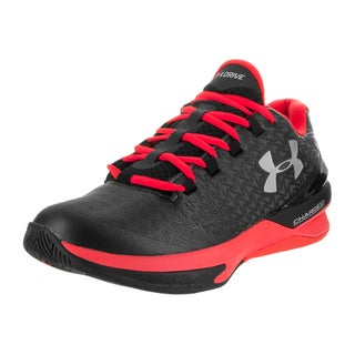 Under Armour Men's Clutchfit Drive 3 Low Black Synthetic Basketball Shoes
