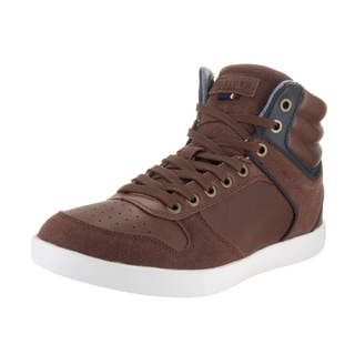 Tommy Hilfiger Men's Tappan Brown Synthetic Leather Casual Shoes