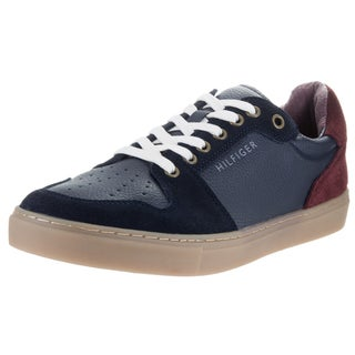 Tommy Hilfiger Men's Marlin Dark Blue Synthetic Leather Casual Shoes
