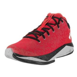 Under Armour Men's Fire Shot Red Basketball Shoes