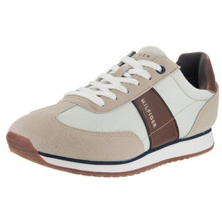 Tommy Hilfiger Men's Modesto Beige Textile Casual Shoes
