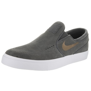 Nike Unisex Zoom Janoski Slip Elite Grey Suede Skate Shoe