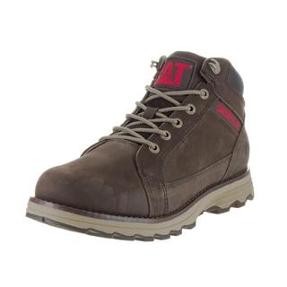 Caterpillar Men's 'Utmost' Brown Leather Boot