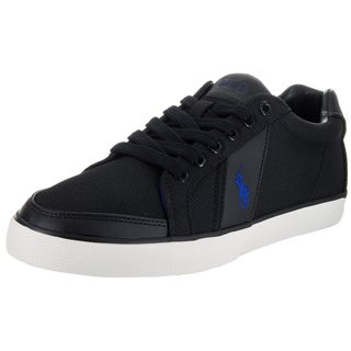 Polo Ralph Lauren Men's Hugh Sk Vlc Black Textile Casual Shoes