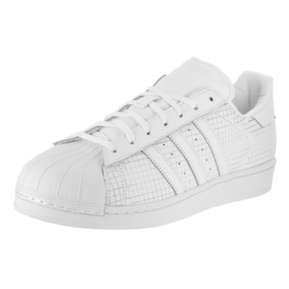 Adidas Men's Superstar Originals White Leather Casual Shoes