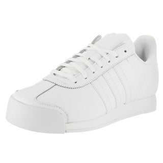 Adidas Men's Samoa Originals White Synthetic Leather Casual Shoes