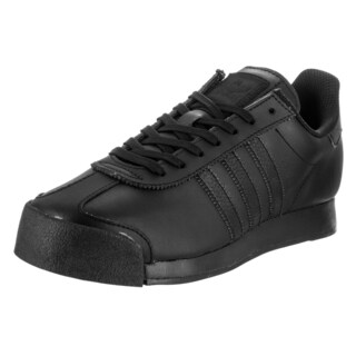 Adidas Men's Samoa Originals Synthetic Black Leather Casual Shoes