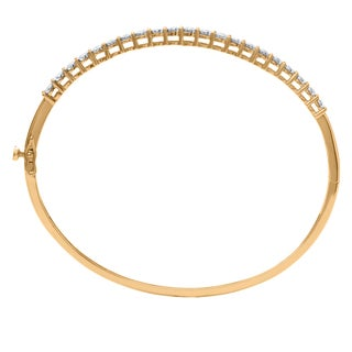 1.02 carat total weight Bangle Diamond in 10k Yellow Gold