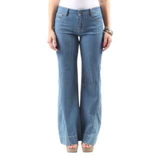 Hadari Women's Casual Fashion Curvy Soft Short Denim Bootcut Jeans|https://ak1.ostkcdn.com/images/products/13488240/P20173445.jpg?impolicy=medium
