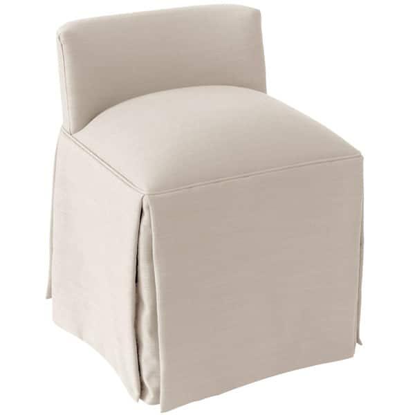 Shop Skyline Furniture Linen Fabric Modern Vanity Chair Overstock 13489154