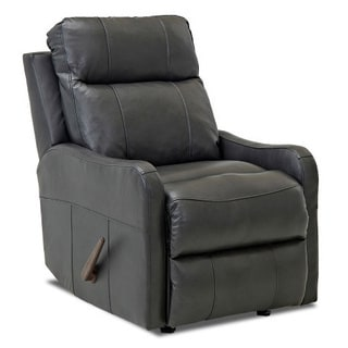 Made to Order Tacoma Leather Reclining Rocking Chair