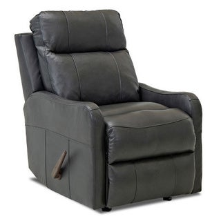 Made to Order Tacoma Leather Reclining Rocking Chair (2 options available)