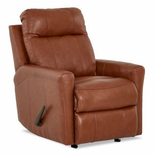 Made to Order Ikon Leather Reclining Rocking Chair